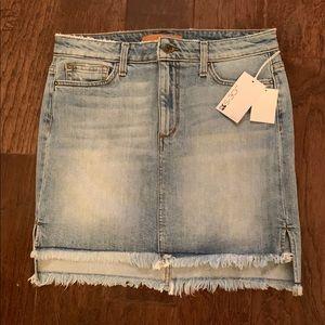 JOE'S JEANS Denim Mini Skirt